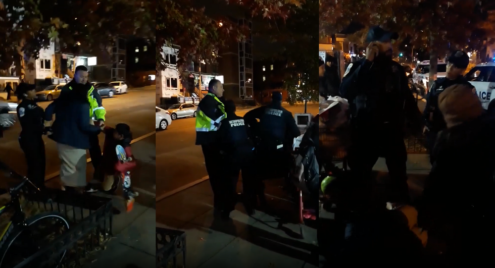 A 15-year-old girl selling plantain chips and grilled corn in Washington, DC, was taken to a children's hospital on Tuesday, shortly after she and her younger brother were approached and detained by officers over their unlicensed, underage sales.