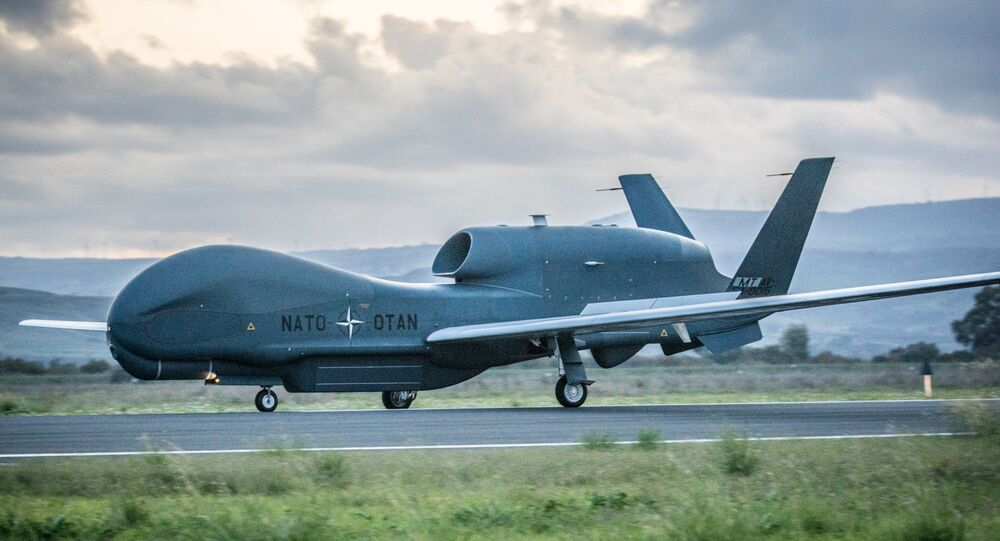NATO's first RQ-4D has arrived in Europe