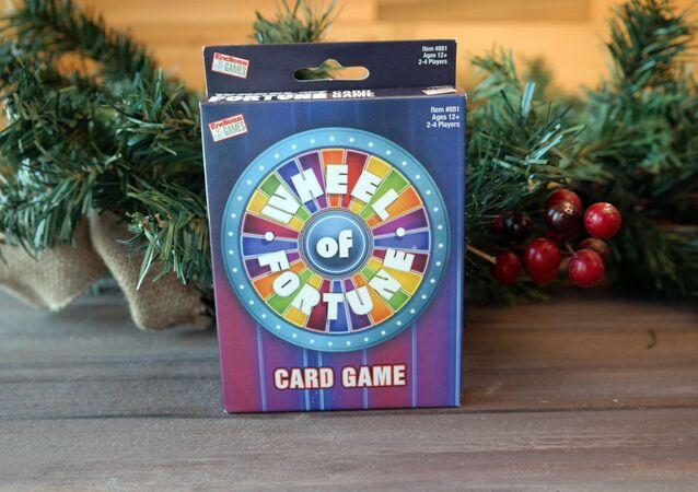 Wheel of fotune, card game
