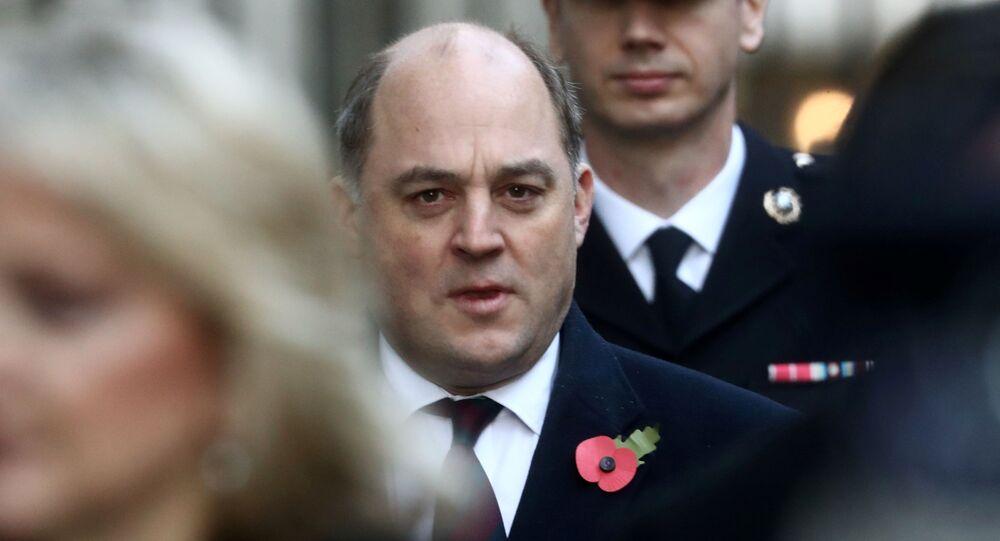 Britain's Defence Secretary Ben Wallace