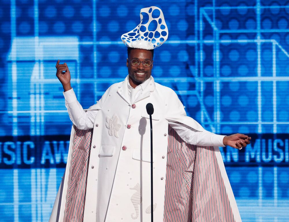 Billy Porter at the 2019 American Music Awards show in Los Angeles on 24 November 2019.