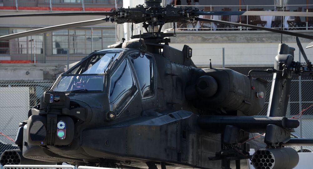 AH-64D Apache Longbow at the International Paris Air Show