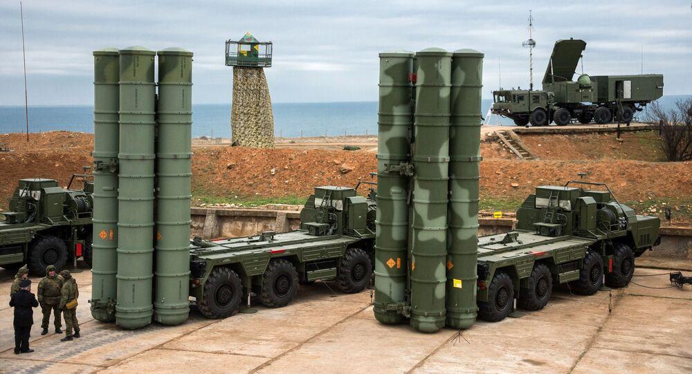 S-400 Triumf anti-air missile system