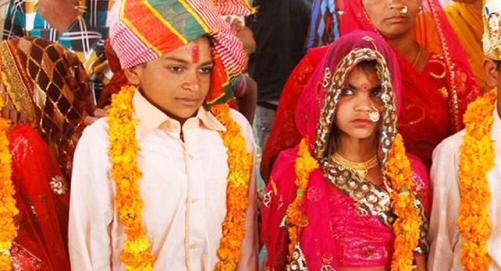 A wrong wedding tradition in India