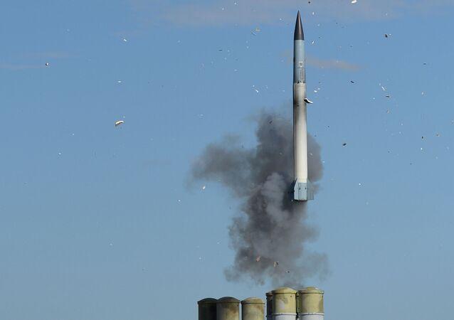 S-400 Triumf missile launch