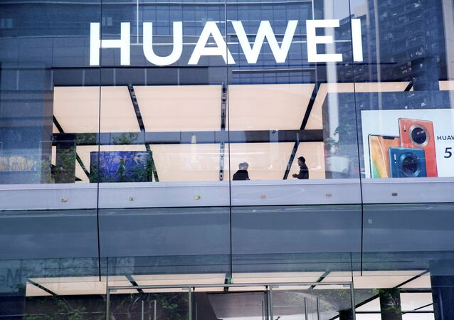Huawei's first global flagship store is pictured in Shenzhen, Guangdong province, China October 30, 2019