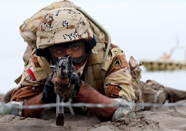 IRGC naval drills. File photo