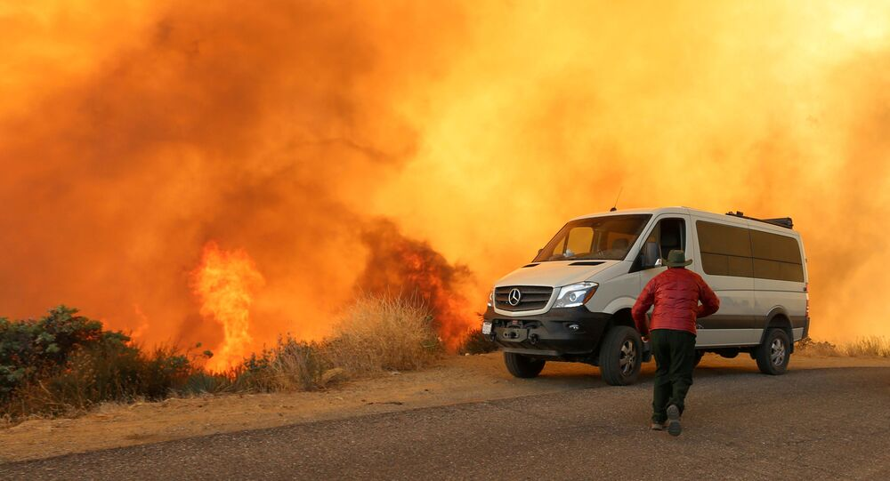 California wildfires burn record 2 million acres