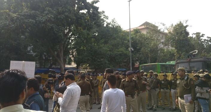Massive Protests Outside and Inside Indian Parliament over Controversial Remark by Pragya Thakur