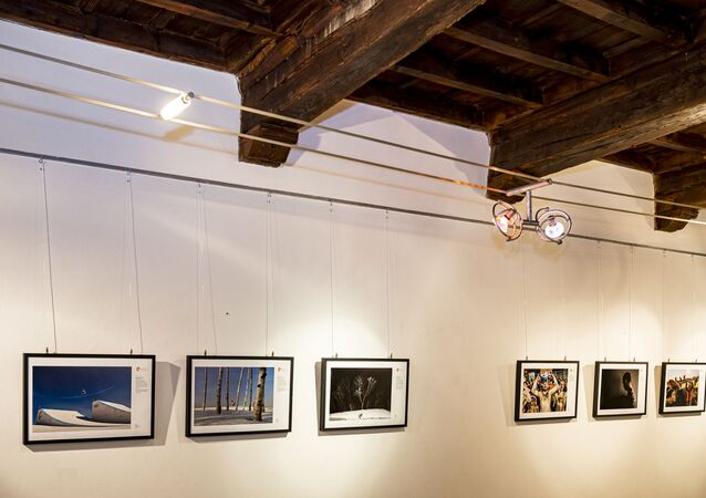 Opening of the exhibition of the winners of the Stenin competition in Italy