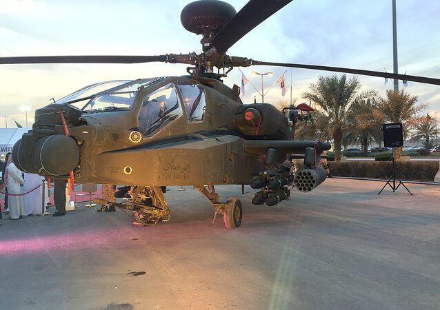 Saudi Arabian National Guard AH-64 Apache