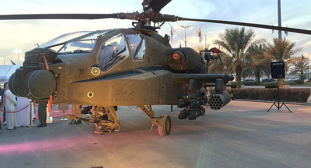 Saudi Arabian National Guard AH-64 Apache