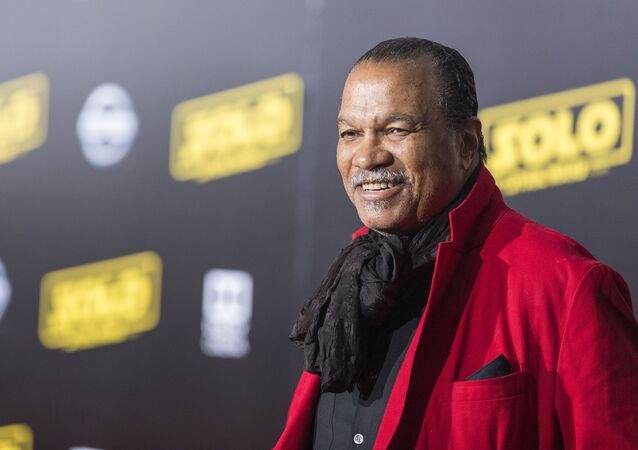Billy Dee Williams arrives at 'Solo: A Star Wars Story' film premiere on Thursday, May 10, 2018, in Los Angeles.