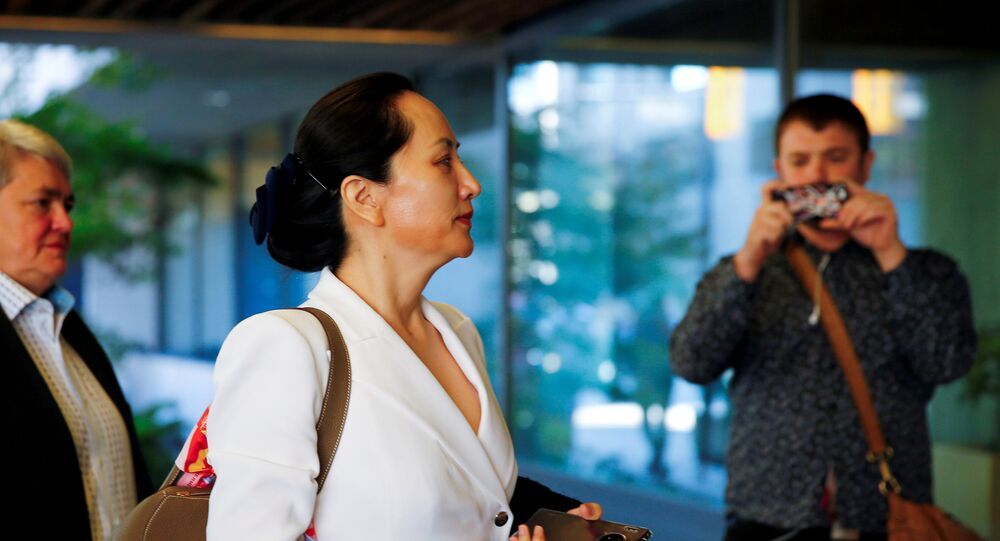 Huawei Technologies Chief Financial Officer Meng Wanzhou returns to British Columbia supreme court after a lunch break during a hearing in Vancouver, British Columbia, Canada September 30, 2019