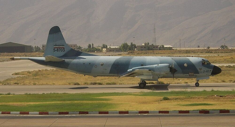 An Iranian Air Force Lockheed P-3F Orion