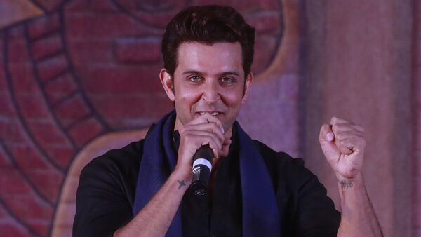 Bollywood actor Hrithik Roshan speaks during an event to promote his upcoming film Mohenjo Daro in Mumbai, India, Tuesday, July 12, 2016. The film is scheduled for release on August 12, 2016 - Sputnik International