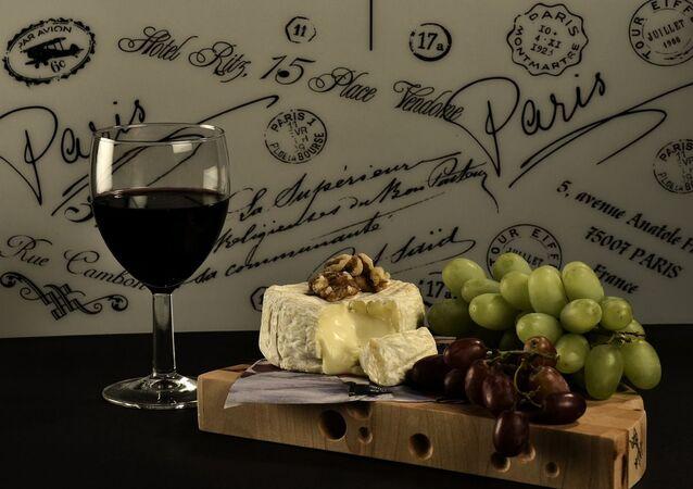 Wine Cheese Grape