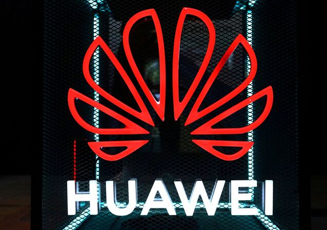 FILE PHOTO: The Huawei logo is pictured at the IFA consumer tech fair in Berlin, Germany, September 5, 2019.