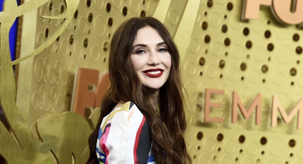 Carice van Houten arrives at the 71st Primetime Emmy Awards on Sunday, Sept. 22, 2019, at the Microsoft Theater in Los Angeles