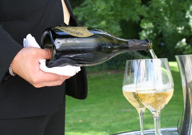 Champagne, France - Dom Perignon