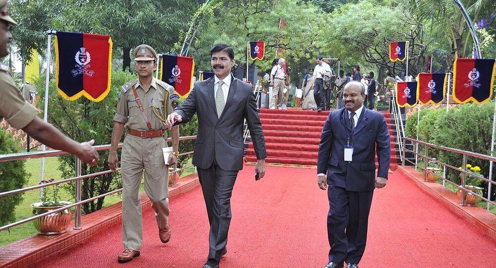 K Vijay Kumar IPS Passing Out Parred SVPNPA