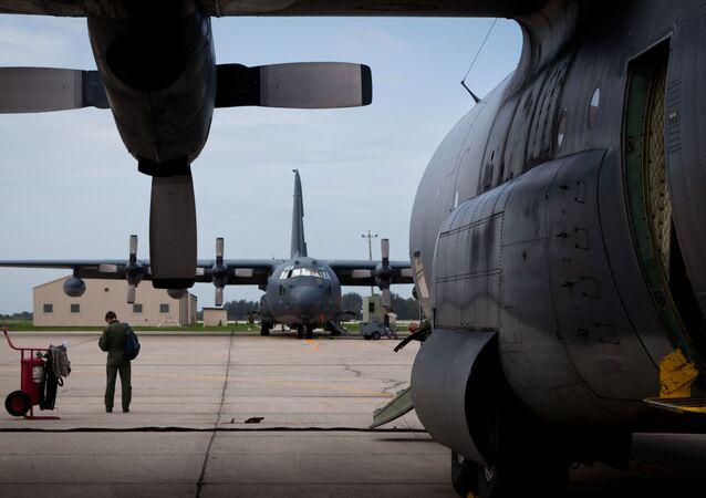 The tarmac at Patrick Air Force Base