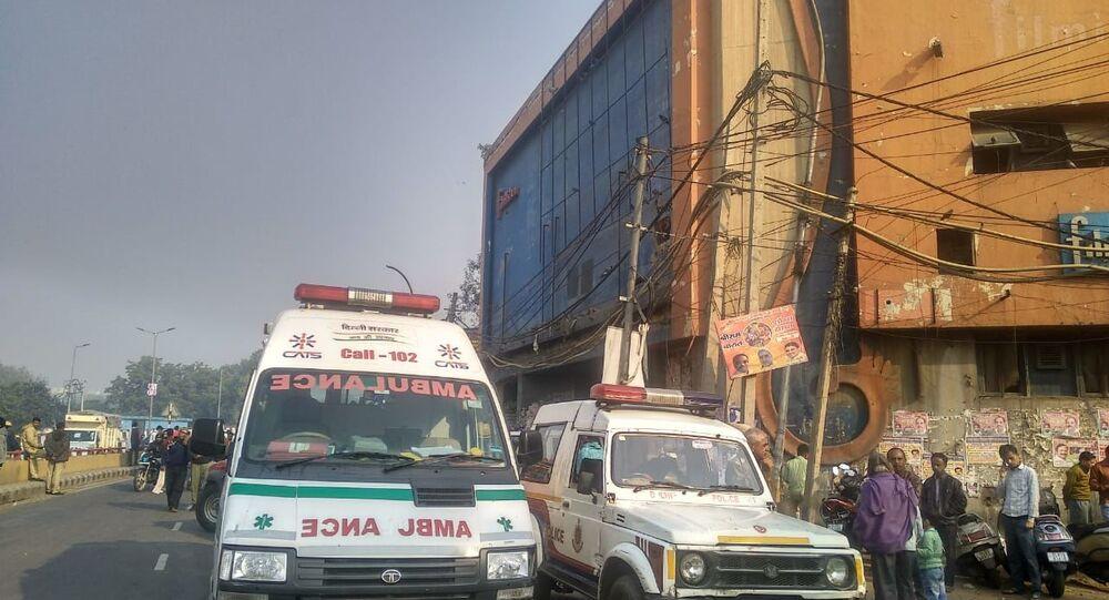 New Delhi Ambulance