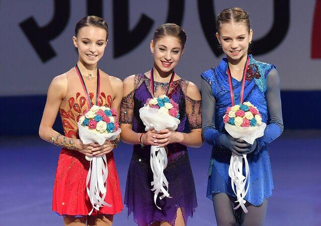 ISU Grand Prix of Figure Skating Final. Award ceremony