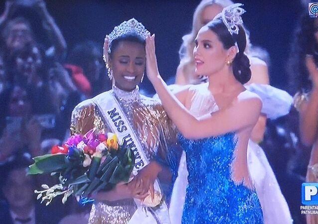 South African model Zozibini Tunzi claims Miss Universe 2019 title