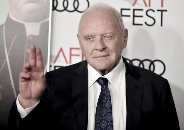 Anthony Hopkins attends 2019 AFI Fest