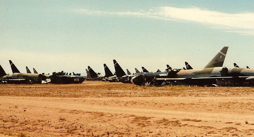 Retired B-52 strategic bombers