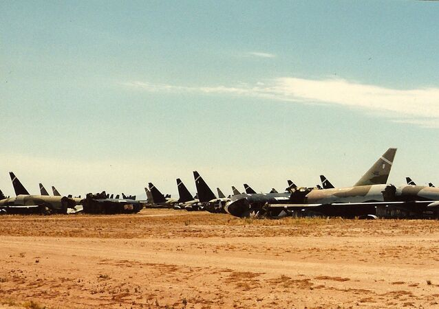 Retired B-52 strategic bombers
