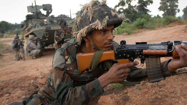 An Indian soldier - Sputnik International
