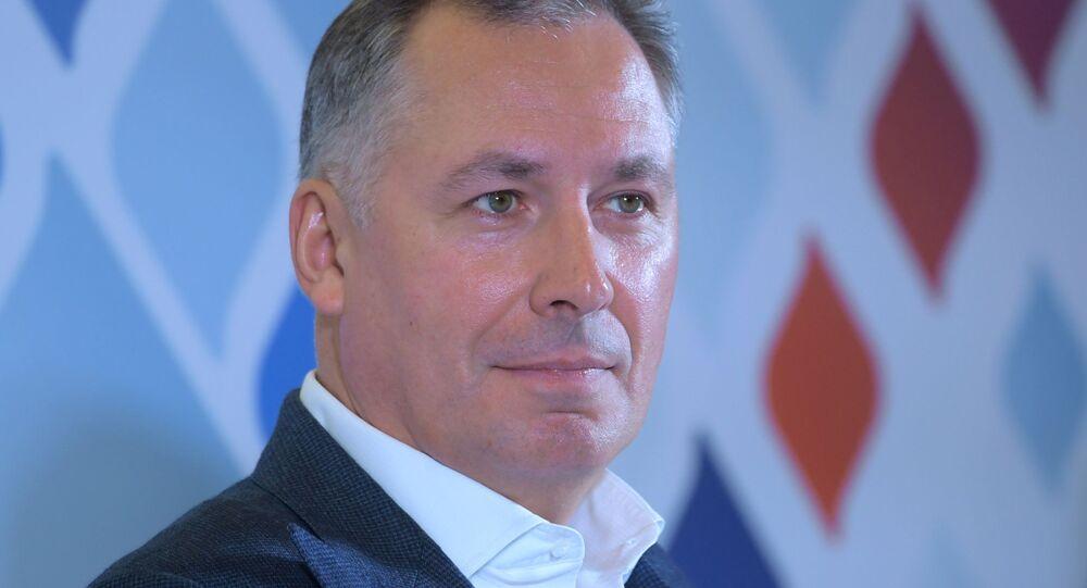 President of the Russian Olympic Committee Stanislav Pozdnyakov
