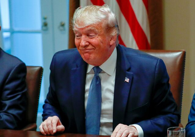 US President Donald Trump speaks during a roundtable discussion on education choice at the White House in Washington, US, December 9, 2019.
