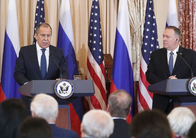 Russian Foreign Minister Sergei Lavrov and US Secretary of State Mike Pompeo held a meeting in the United States