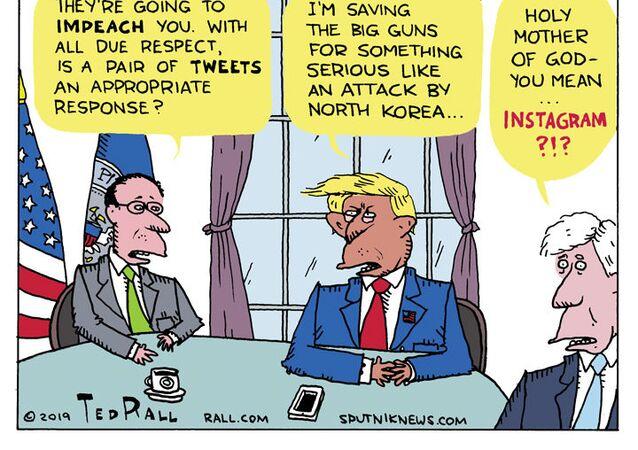 Trump's Two-Thumb Defense