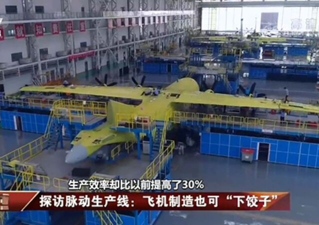 Special mission aircraft including anti-submarine aircraft are being built in a pulse assembly line at AVIC Shaanxi Aircraft Industry (Group) Corporation Ltd