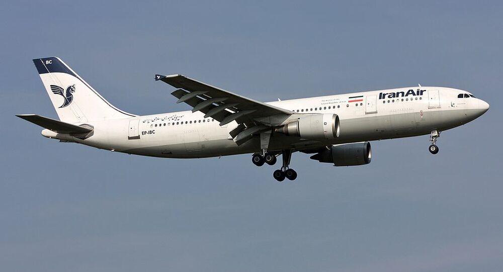 Iran Air Airbus A300B4-605R EP-IBC