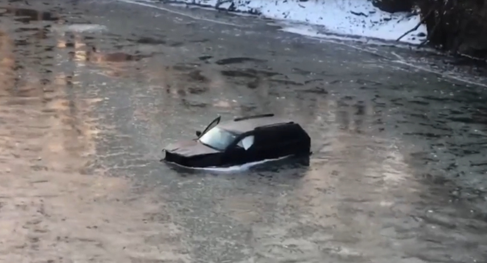 US Man Rescued From Sinking Car by Firefighters After Yelling 'Siri, Call 911'