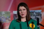 Liberal Democrats candidate Jo Swinson speaks after losing her seat in East Dunbartonshire constituency, at a counting centre for Britain's general election in Bishopbriggs, Britain December 13, 2019