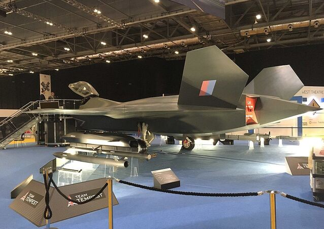 BAE Systems Tempest on DSEI -2019, ExCel, London.