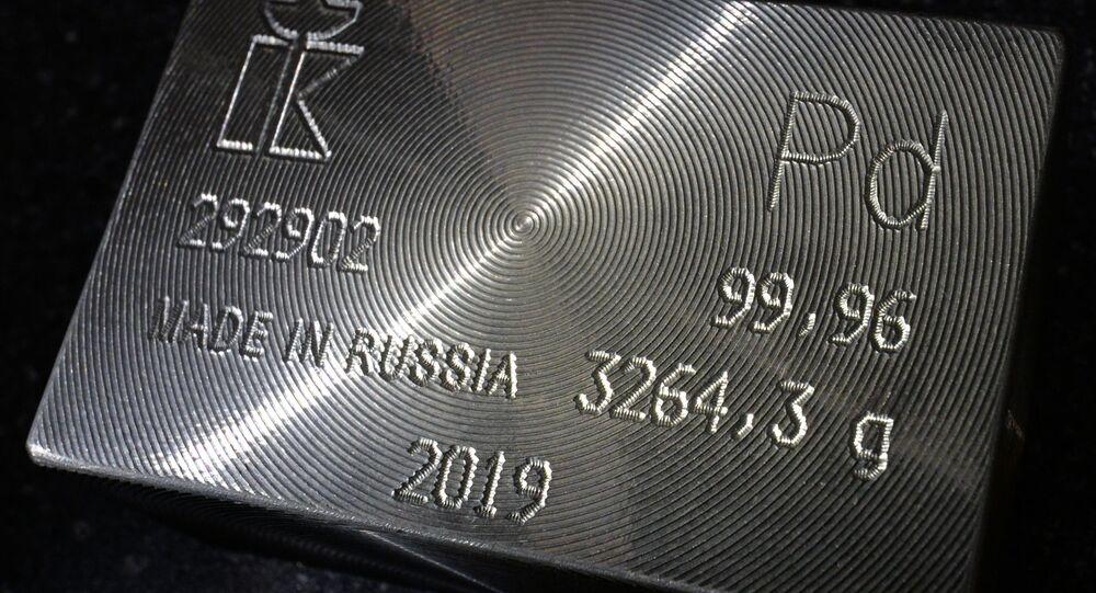 Top palladium ingot 99.96 percent