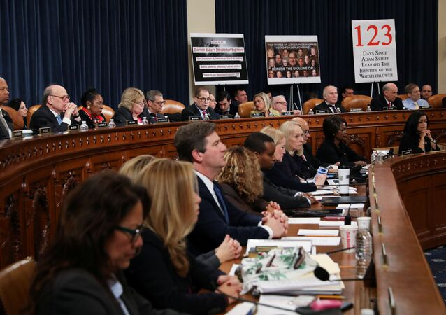 U.S. House Judiciary Committee Chairman Jerrold Nadler (D-NY) presides as the committee votes to approve two articles of impeachment against U.S. President Donald Trump and send them on to the full House of Representatives for consideration on Capitol Hill in Washington, U.S., December 13, 2019.