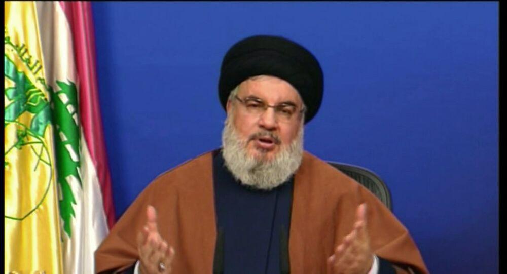 Hassan Nasrallah in Lebanon