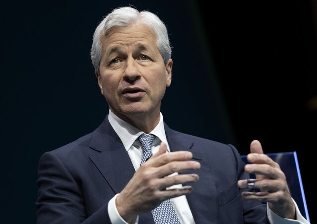 JPMorgan Chase & Co. CEO Jamie Dimon in Washington, DC