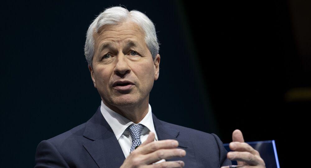 JPMorgan Chase & Co. CEO Jamie Dimon in Washington, DC