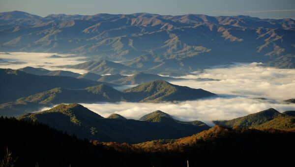 View on the Great Smoky Mountains, the US - Sputnik International