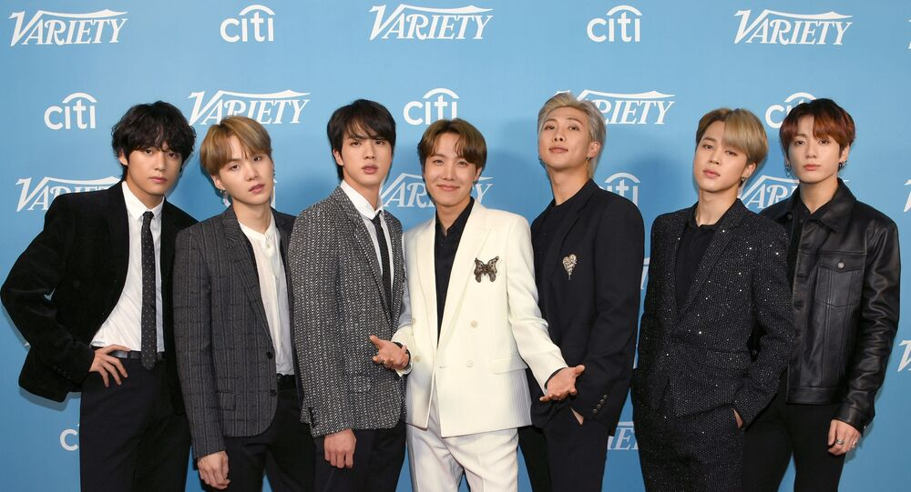 V, SUGA, Jin, J-Hope, RM, Jimin, and Jungkook of BTS attend the 2019 Variety's Hitmakers Brunch at Soho House on December 07, 2019 in West Hollywood, California.