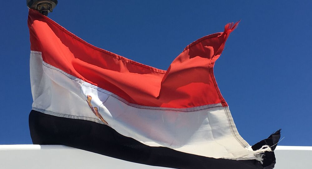 The flag, Hurghada, Egypt